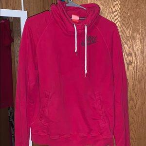 Reddish Pink Nike Sweatshirt